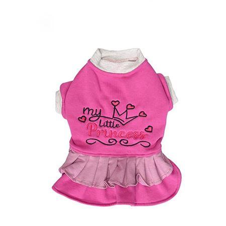 Lepus Küçük Irk Köpek Kışlık Elbise Lila 2XLarge