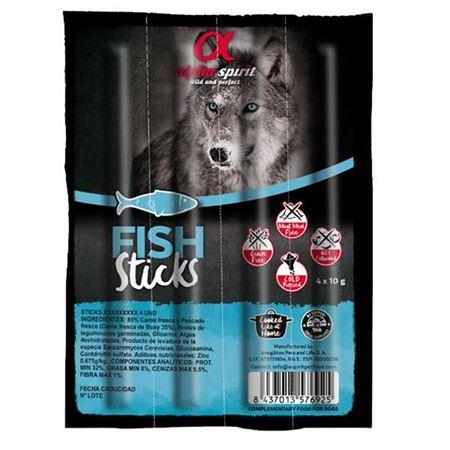 Alpha Spirit Balıklı Sticks Köpek Ödülü 10 Gr 4 LU