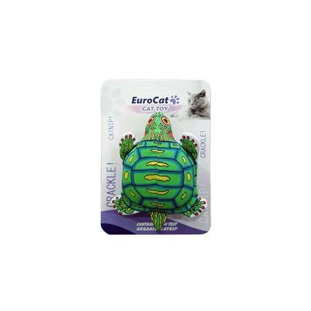 EuroCat Kedi Oyuncağı Kaplumbağa 11 Cm