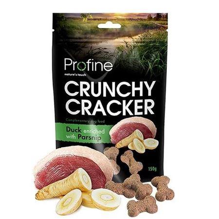 Profine Crunchy Cracker Ördekli Yaban Havuçlu Köpek Krakeri 150 Gr