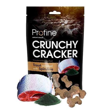 Profine Crunchy Cracker Alabalık Spirulina Köpek Krakeri 150 Gr