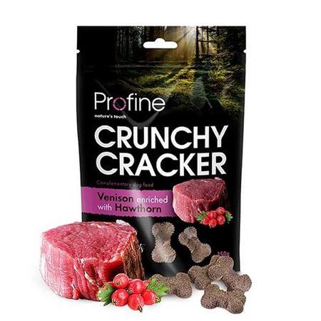 Profine Crunchy Cracker Geyikli Alıçlı Köpek Krakeri 150 Gr