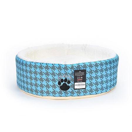 Lepus Kedi Köpek Sünger Yatağı Mavi