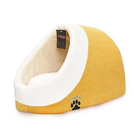 Lepus Alaska Kedi Köpek Yatağı Hardal