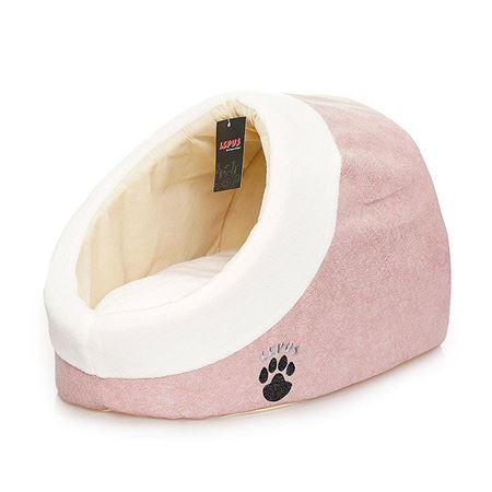Lepus Alaska Kedi Köpek Yatağı Pembe