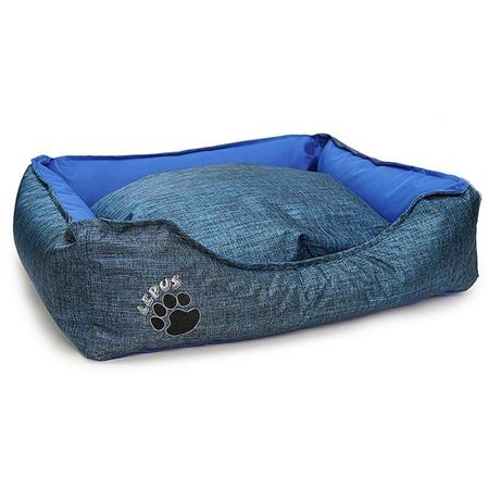 Lepus Dış Mekan Köpek Yatağı Medium Mavi