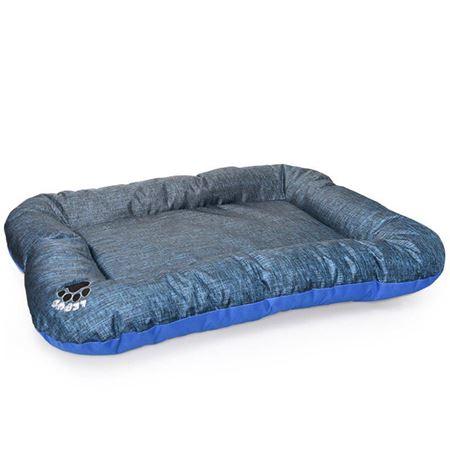 Lepus Kedi Köpek İçin Basic Yer Minderi Large Mavi