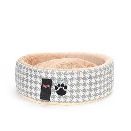 Lepus Kedi Köpek Sünger Yatağı Gri